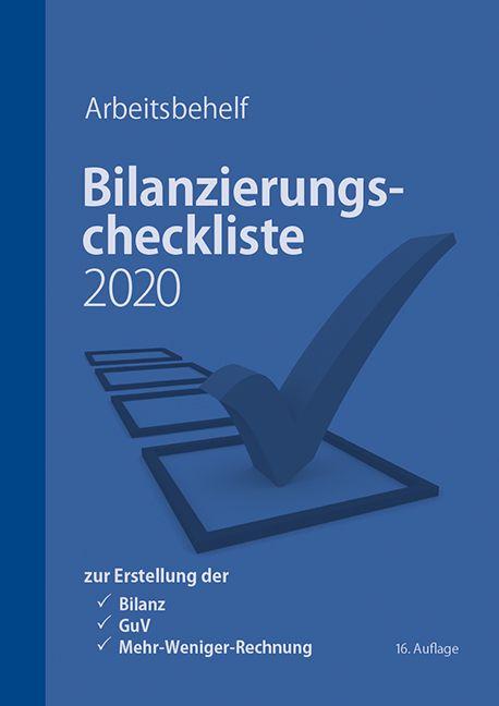 Bilanzierungscheclisze 2020